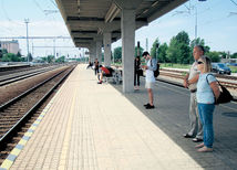 Piešťany, vlak