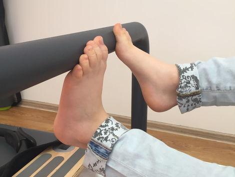Hladký povrch - to nie je nič pre plochú nohu.