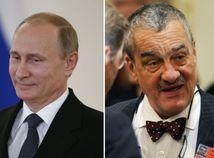 Vladimir Putin, Karel Schwarzenberg