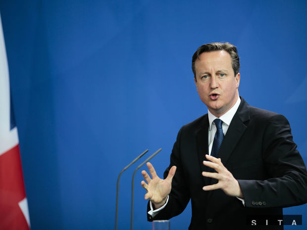 David Cameron, Cameron, britský premiér
