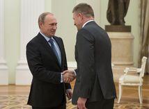 Vladimir Putin, Robert Fico