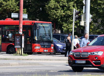 autobus MHD dopravny podnik bratislava