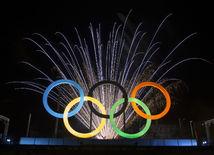 Rio 2016, olympijské kruhy, ilustračná