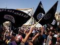 Islamský štát, Mosul, Irak, vlajka, zástava, islamisti