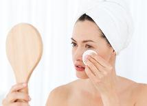 žena, odličovanie, tvár, kozmetika