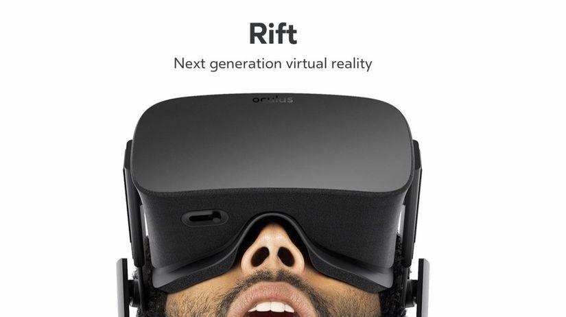 5e8d04174 Fanúšikovia virtuálnej reality sa dočkali. Oculus Rift má prvého ...