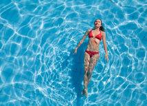 plávanie, leto, bazén, zápal močových ciest