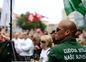 Mnohí z účastníkov demonštrácie boli prívrženci strany Ľudová strana Naše Slovensko.