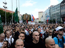 Protest, demonštrácia, Bratislava, utečenci