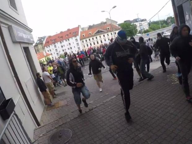 extrémisti, Bratislavský hrad