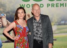 Herec Patrick Stewart a jeho manželka Sunny Ozell.