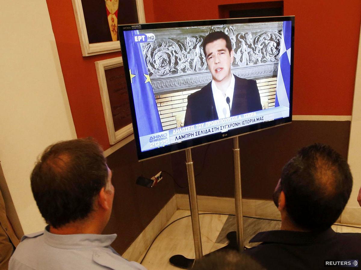 Alexis Tsipras po odmietnutí podmienok veriteľov v referende chce žiadať od eurozóny odpis gréckych dlhov.