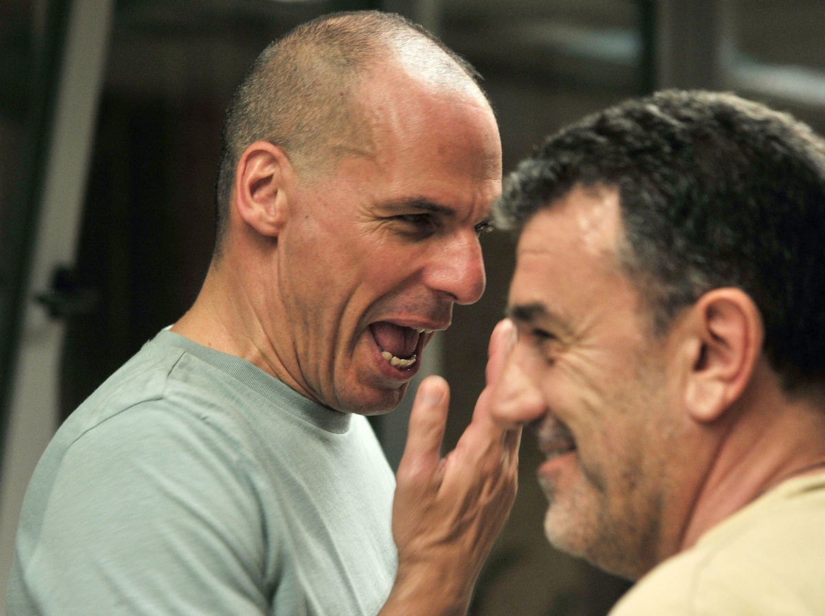 Janis Varufakis po referende, ktoré povedalo nie podmienkam veriteľov Grécka.
