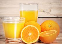 pomarančový džús, pomaranč