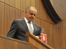 Kiska, Andrej Kiska, prezident, vystúpenie, parlament, NR SR