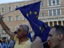 grecko, demonstranti