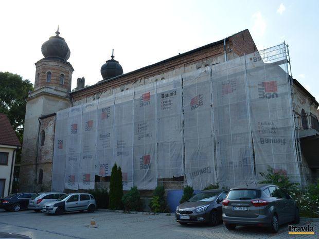 synagóga, Trnava, rekonštrukcia