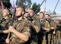 Ukrajina, pravý sektor, jaroš, protest