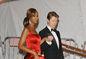 "Rok 2008:  Iman a jej manžel, David Bowie, počas  podujatia ""Metropolitan Museum of Art's Costume Institute Gala"" v New Yorku."