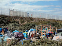 Francúzsko, utečenci, Calais