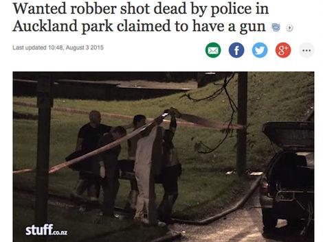 Novozélandská polícia zastrelila mladého Slováka