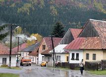 dedina, domy, vidiek, obec