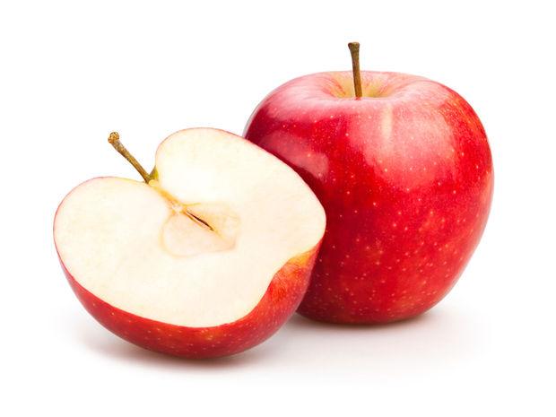 jablko, vláknina
