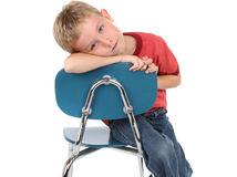 stolička, dieťa, školák