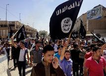 Islamský štát, demonštrácia,