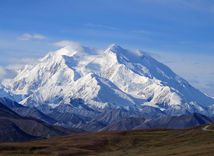 najvyššia hora USA, USA, hora, kopec, príroda,