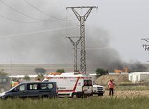 Španielsko, výbuch v továrni