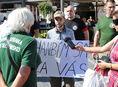 Trnava, protest proti utečencom