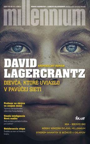 David Lagercrantz - Dievča, ktoré uviazlo v pavúčej sieti