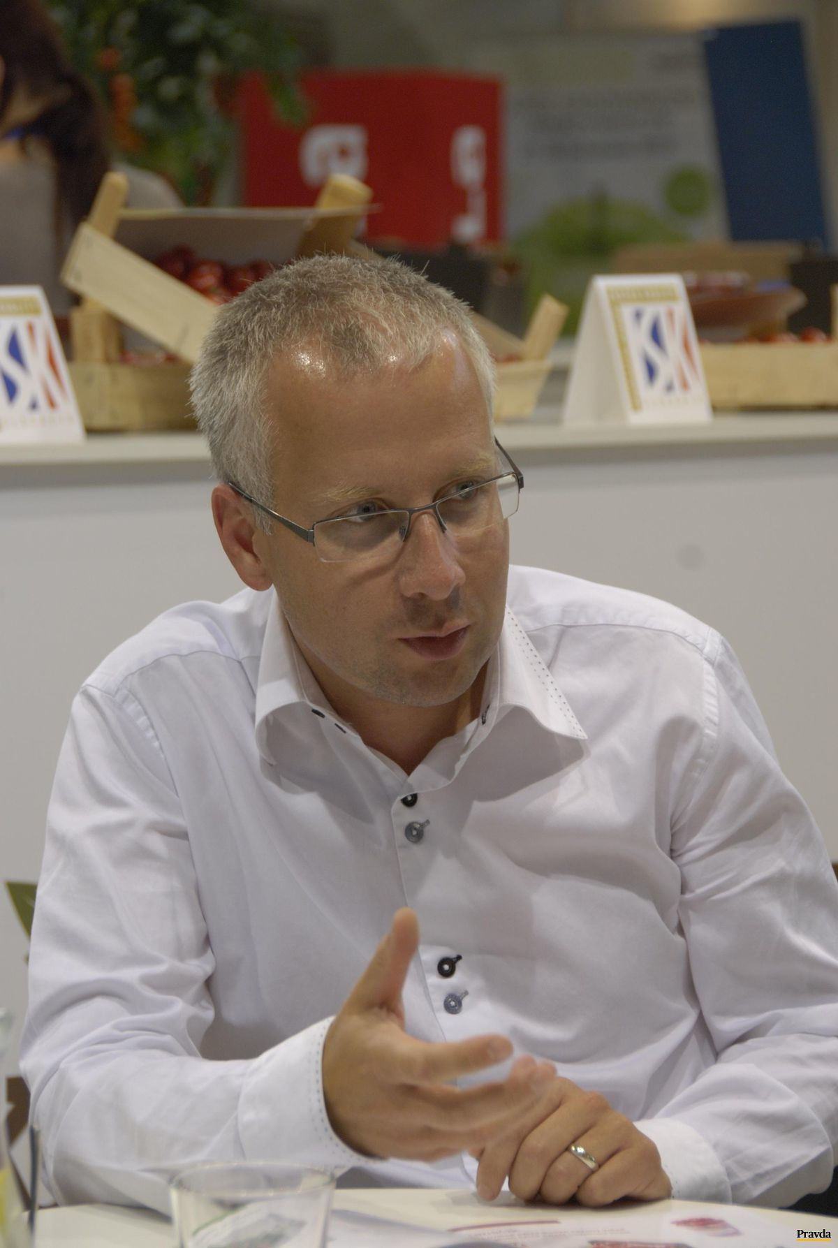 Jiří Stodůlka, riaditeľ spoločnosti NWT Greenhouse.