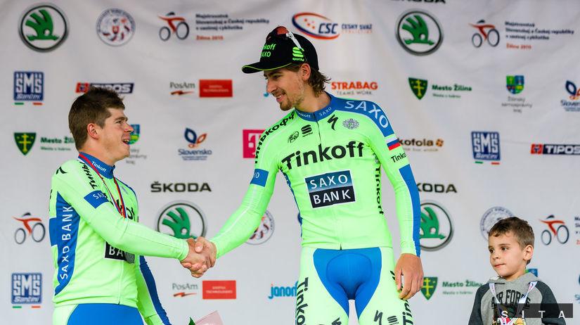 7a5fe89e8adce Peter Sagan, Juraj Sagan. Bratia Saganovci z tímu Tinkoff-Saxo ...