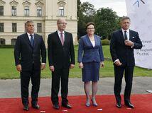 Orbán, Sobotka, Kopaczová, Fico