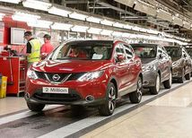 Nissan Qashqai - produkcia Sunderland