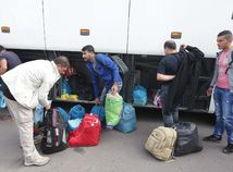 Gabčíkovo, utečenci