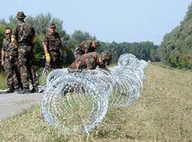 maďarsko, vojaci, plot, hranice, zálohy, utečenci, migranti, migračná kríza,