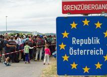 rakúsko, hranice, utečenci, migranti, migračná kríza,