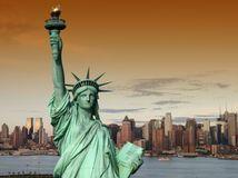 socha slobody, USA, Amerika, New York,