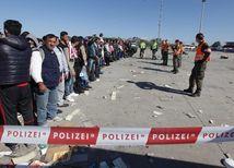 utečenci, migranti, Nickelsdorf