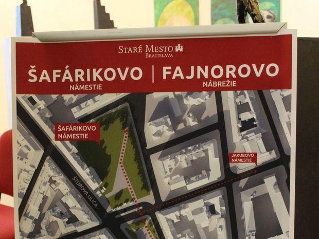 Šafárikovo námestie, Staré mesto