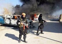 sýria, islamský štát, teroristi, ozbrojenci,