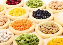 fazuľa, šošovica, hrach, cícer, strukoviny