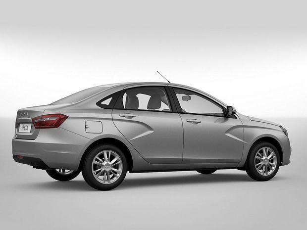 Pod zadným vekom ponúkne nový ruský sedan 480 litrov pre batožiny.