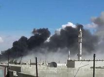 sýria, bombardovanie, islamský štát, rusko