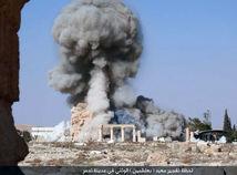 Pozície islamistov v Palmýre boli terčom sýrskeho a ruského letectva
