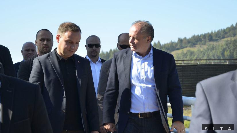 Kiska hovoril s poľským prezidentom o spolupráci - Domáce - Správy -  Pravda.sk eebdd52ac16