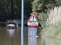 Francúzsko, povodeň